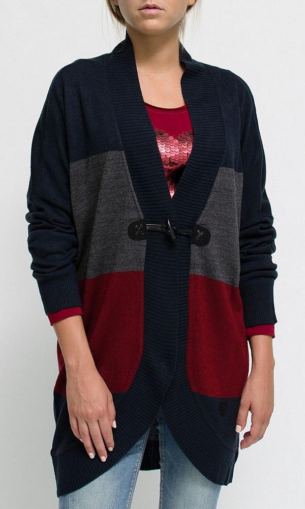 Dámsky sveter HEAVY TOOLS / HAJAR striped